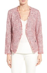 Ivanka Trump Women's Open Front Tweed Jacket