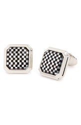 Men's David Donahue Sterling Silver Cuff Links