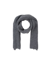 Stefanel Oblong Scarves Dark Blue