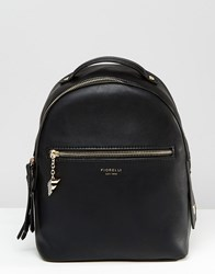 Fiorelli Anouk Clean Mini Backpack With Zip Pocket Detail Anouk Black