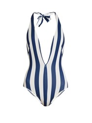 Solid And Striped The Willow Swimsuit Blue Stripe
