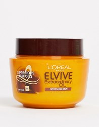 L'oreal Elvive Extraordinary Oil Hair Mask Pot For Dry Hair 300Ml No Colour