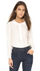 Milly Dolman Blouse Ivory