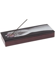 Fornasetti Pensee Incense Box Black