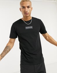 Hurley One And Only Small Box T Shirt In Black