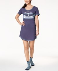 By Jennifer Moore Printed Sleepshirt Weekend Warrior