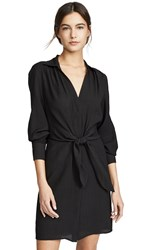 Brochu Walker Madsen Shirtdress Black Onyx