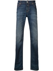Closed Faded Slim Fit Jeans Blue