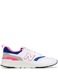 New Balance Panelled Sneakers White