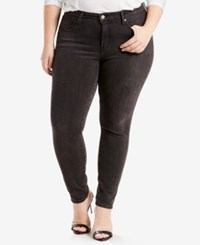 Levi's Plus Size 310 Shaping Super Skinny Jeans Black