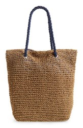 Cesca Rope And Straw Tote