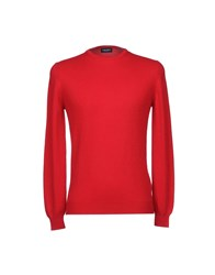 Zanieri Knitwear Jumpers Red