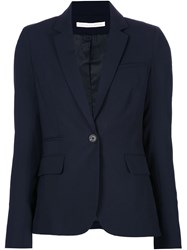 Veronica Beard Blazer Jacket Blue