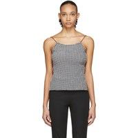 Maryam Nassir Zadeh Black And White Thea Top