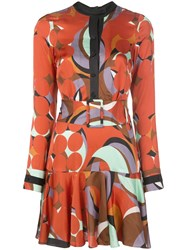 Alexis Gemini Geometric Print Dress 60