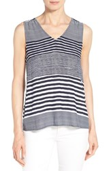 Women's Tommy Bahama 'A Stripe To Remember' V Neck Tank