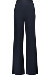Theory Talbert Ponte Wide Leg Pants Midnight Blue