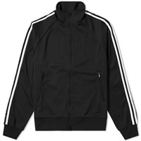 Y 3 Three Stripe Lux Track Jacket Black