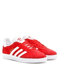 Adidas Gazelle Suede Sneakers Red