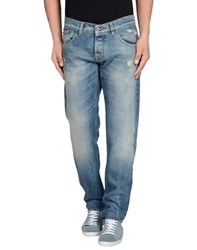 Macchia J Denim Denim Trousers Men Blue