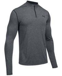 Under Armour Men's Threadborne Performance Quarter Zip Pullover Black Graphite