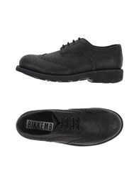 Bikkembergs Footwear Lace Up Shoes Women Black