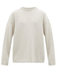 Our Legacy Sonar Crew Neck Sweater Light Blue