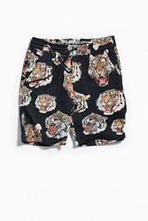 Publish Kael Jacquard Tiger Short Navy