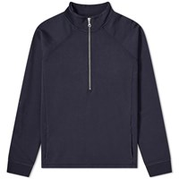 Folk Rivet Funnel Sweat Blue