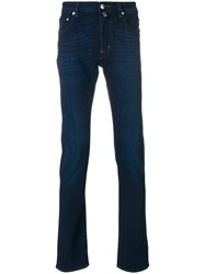 Jacob Cohen Straight Fit Jeans Cotton Spandex Elastane 35 34