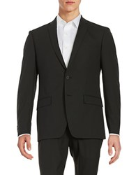 William Rast Two Button Blazer Black