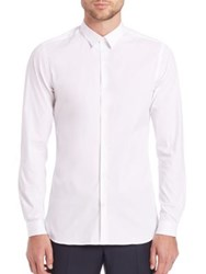 The Kooples Stretch Cotton Button Down Shirt White