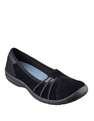 Easy Spirit Kaali Suede Flats Black