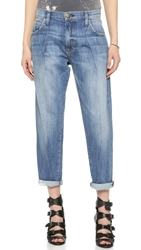 Current Elliott Goldminer Pleated Boyfriend Jeans Tulsa