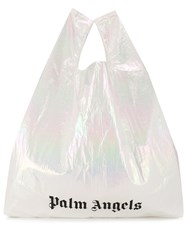 Palm Angels Logo Print Shopping Bag 60