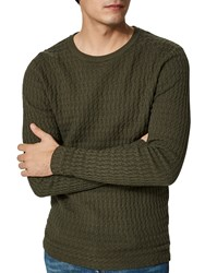 Selected Homme Mike Crew Neck Jumper Forest Night