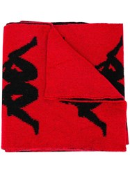 Faith Connexion Kappa Scarf Red