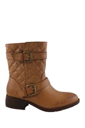 Liliana Elite Quilted Bootie Brown