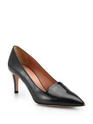 Giorgio Armani Patent Leather Pumps Solid Black