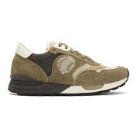 Visvim Brown Roland Jogger Sneakers