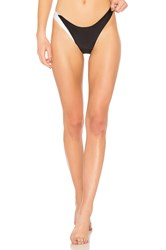 Baja East Skimpy Bikini Bottom Black And White