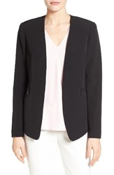 Vince Camuto Women's Zip Pocket Blazer Rich Black