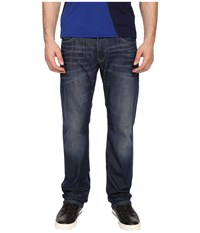 Armani Jeans Regular Fit Button Fly Jeans In Denim