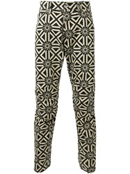 G Star Raw Research Printed Trousers Nude Neutrals
