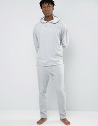 Selected Homme Joggers With Cuffed Ankle In Slim Fit Waffle Grey