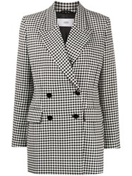 Closed Karlo Checked Double Breasted Blazer 60