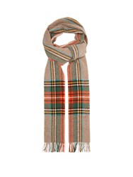 Gucci Checked Wool Scarf Multi