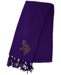 Little Earth Women's Minnesota Vikings Pashi Fan Scarf Purple