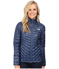 The North Face Thermoball Full Zip Jacket Shady Blue Women's Coat