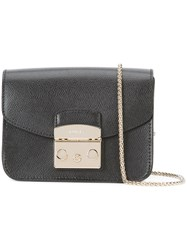 Furla Chain Strap Crossbody Bag Black